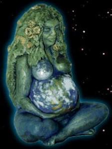 Cuerpo pintado de tierra universo, el mundo en tu cuerpo, la piel del mundo