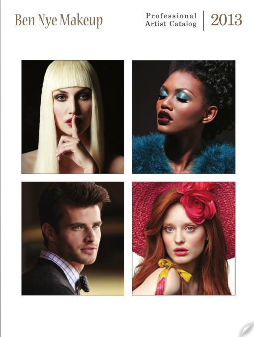 Portada del Catalogo De maquillajes Ben Nye 2013