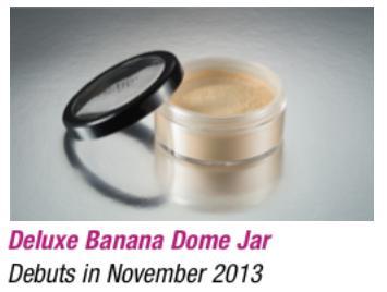 Nuevo tamaño para Polvos banana Luxury de Ben Nye